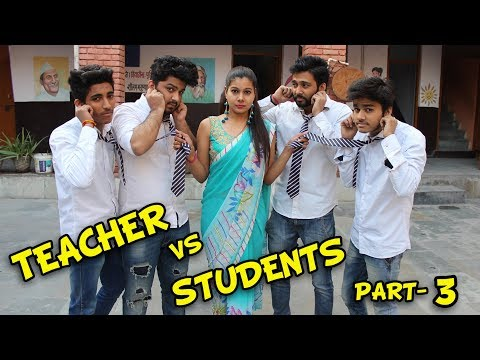 Teacher Vs. Students Part 3