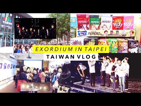 Taiwan Vlog 🇹🇼  EXO'rDIUM in Taipei, Milkhun Exhibition, and Matcha Bubble Tea