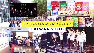 Taiwan Vlog 🇹🇼 EXO rDIUM in Taipei, Milkhun Exhibition, and Matcha Bubble Tea