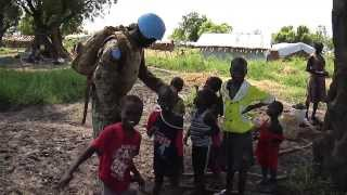 On patrol with peacekeepers in South Sudan