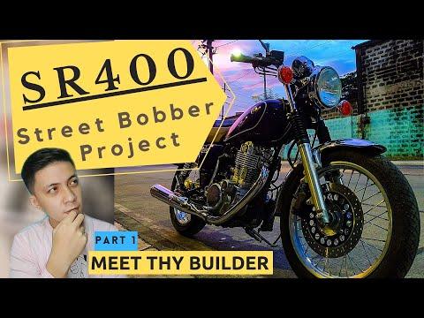 Introduction Video + Sr400 Street Bobber Project - PART 1 (Meet Thy Builder)