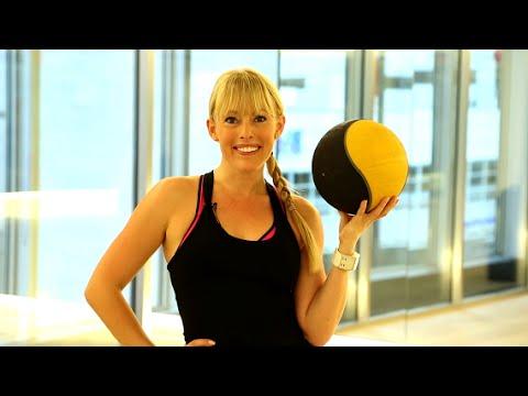 5 Minute Medicine Ball Workout