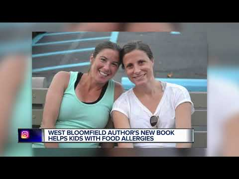 Local author's book helps kids with food allergies