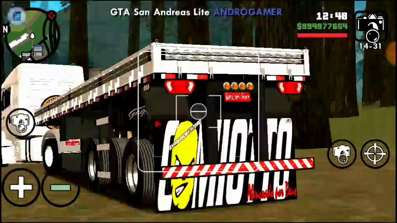 MOD CARRETA GRANEL 2 EIXOS PARA GTA SA (ANDROID & PC)