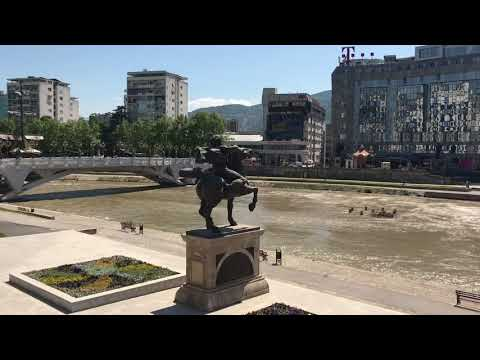 Makedonya'nın Başkenti Üsküp - The Capital of Macedonia Skopje