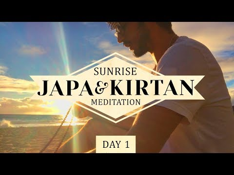 Sunrise Meditation ~ Japa & Kirtan | Science of Identity Foundation