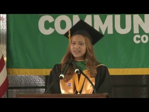 Bronx Community College 2015 Commencement Speeches