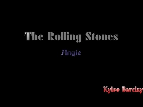 The Rolling Stones - Angie Song Lyrics