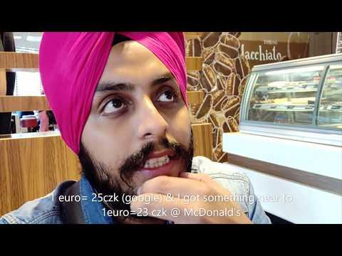 Prague | Money Exchange Tip| eur to czk| Hindi| Czech Republic