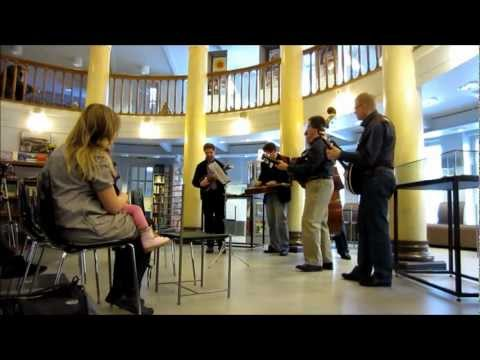 Bluegrass in Helsinki, Kallio Library - The Clayhill Brothers - Finland - 04.04.2012