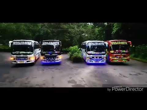 Tourist bus Kerala