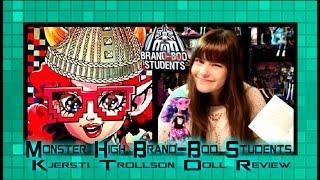 Monster High Brand-Boo Students Kjersti Trollson Doll Review | WookieWarrior23 thumbnail