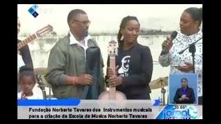 Fundação Norberto Tavares doa instrumentos musicais para a criação da Escola