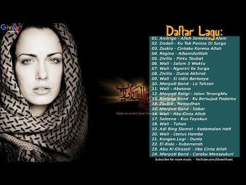 Lagu RELIGI Islam Terbaik - 24 Hits Religi Terbaru 2017