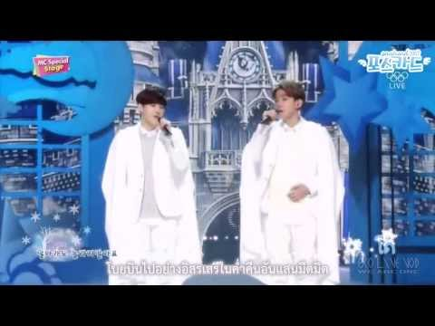 [Karaoke & ThaiSub] 140216 : Suho & Baekhyun (EXO) - Magic Castle @ SBS Inkigayo