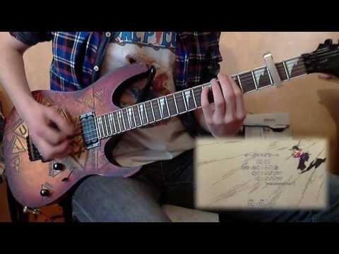 【TAB】 ガガガSP - Tomo yo (Mushibugyo OP Guitar Cover)
