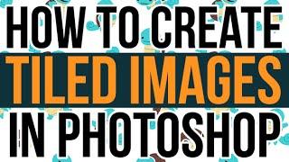 كيفية إنشاء البلاط في فوتوشوب