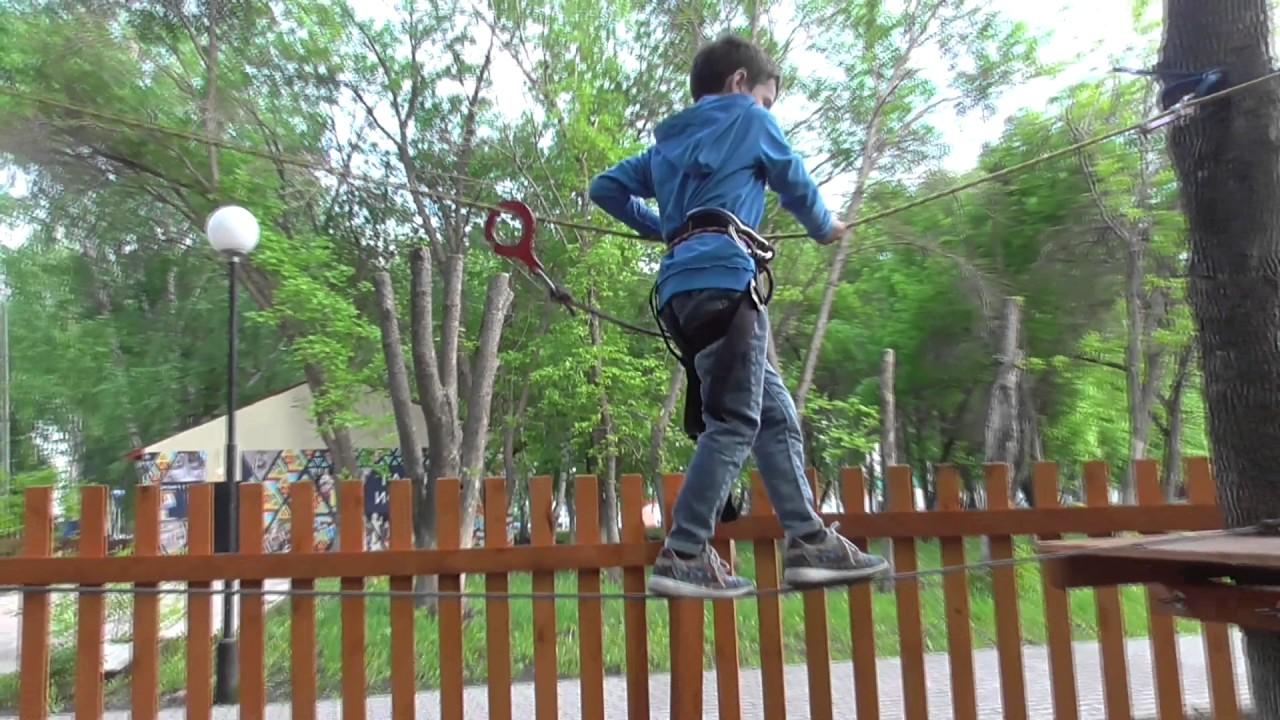 Как сделать веревочный парк своими руками фото 668