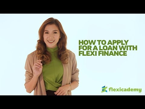 How To Apply For A Loan With Flexi Finance | Flexicademy