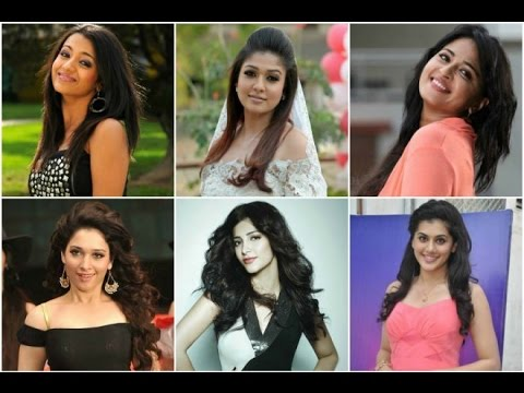 Top 3 Most Paid South Indian Actresses-a Special Survey...!