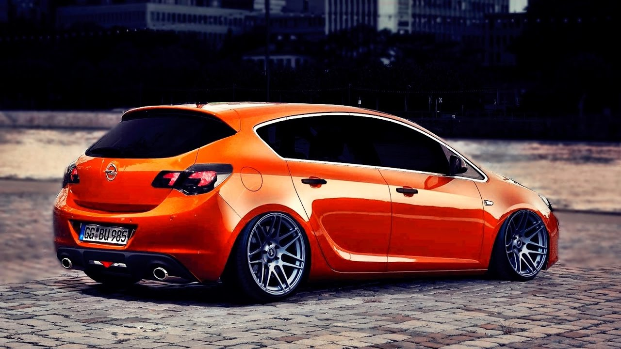 Opel Astra J Virtual Tuning #ShopSerisi - YouTube