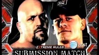 WWE 2K16 Extreme Rules 2009 John Cena Vs Big Show Submission