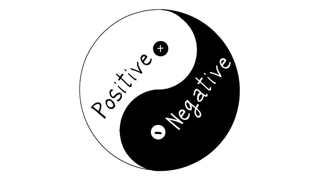 6 Espa U00e7o Positivo E Negativo
