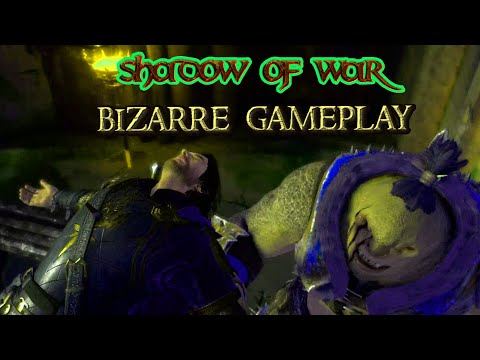 funny the fall bizarre middle earth shadow of war gameplay |