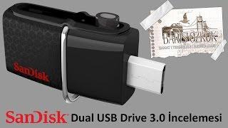 sandisk dual usb drive 3 0 flash disk incelemesi ve kutu aılışı