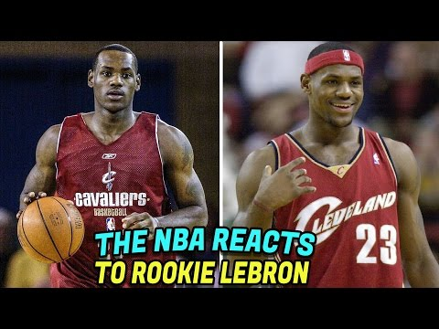 What NBA Players Thought of LeBron James Before He Was Drafted First Overall in 2003