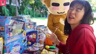 뽀로로 짜장면 불닭볶음면 먹방 놀이 Pororo Noodle Pretend Play for kids & children