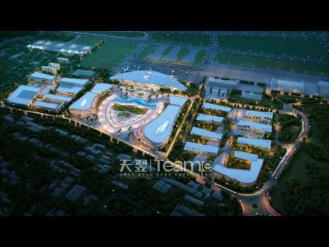 3D Architectural Animation of the Airport in Democratic Republic of Timor-Leste