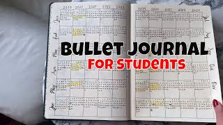 A4 Bullet Journal Setup 2020 | PhD Student Bullet Journal | A4 Research Diary