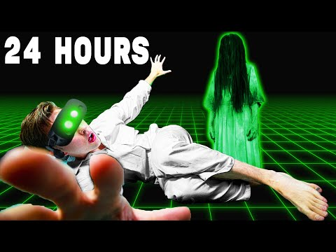 I Played VR Horror Games For 24 Hours Straight |