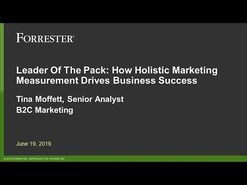 Audio of How Holistic Marketing Measurement Drives Business Success Webinar
