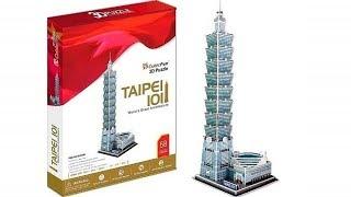 """""""Taipei 101"""" - Puzzle 3D"""