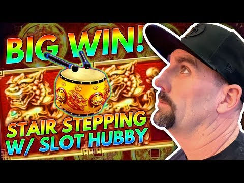🥁 BIG WIN ON THE DRUMS 🥁 STAIR STEPPING WITH SLOT HUBBY 💥