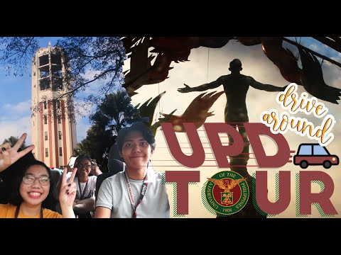 Drive Around UP Diliman (Campus Tour) | Kindred Zia