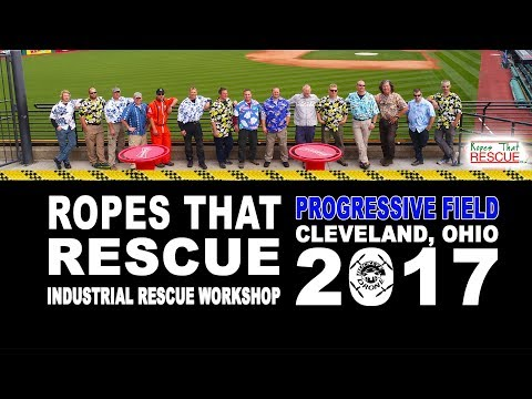 Ropes That Rescue Industrial Rescue Workshop at Progressive Field Cleveland, Ohio 4K