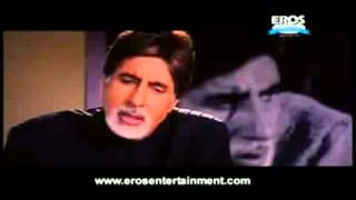 amitabhs speech in baghban