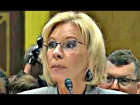Betsy DeVos REFUSED to answer questions on LGBTQ Students rights 6/6/2017