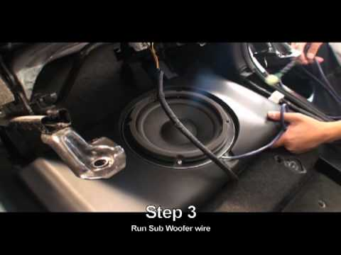 hqdefault oem audio scion xb install youtube 2008 scion xb wiring diagram at gsmx.co