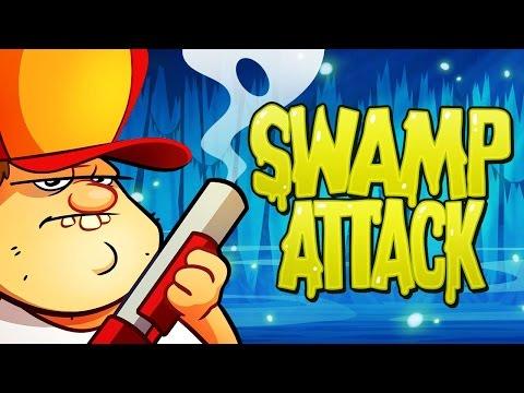 АТАКА на БОЛОТЕ #3 Мультик Игра для детей Swamp Attack Мульт ИГРА #Мобильные игры