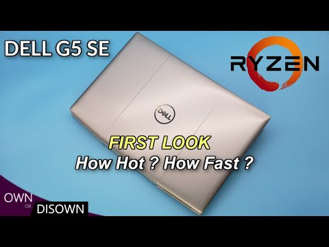 How Hot ? How Fast ? Dell G5 SE (AMD) 4800H/ 5600m - First Look Review