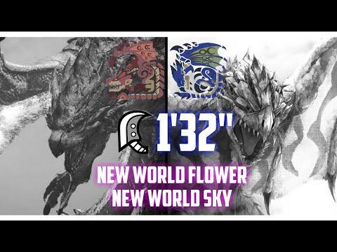 """[Monster Hunter World] 9☆ New World Flower, New World Sky - 1'32"""" - Greatsword thumbnail"""