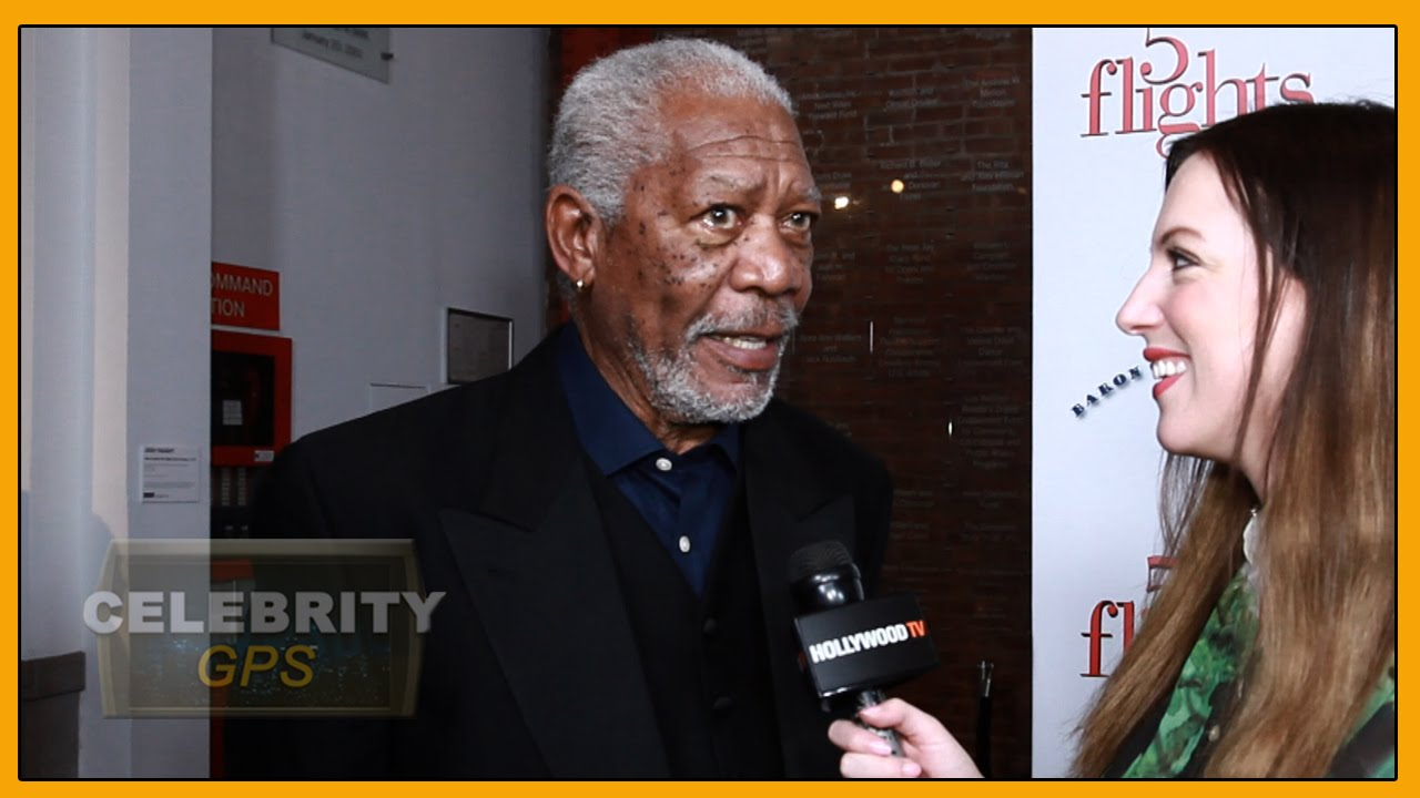 Morgan Freeman's voice available on Waze - Hollywood TV
