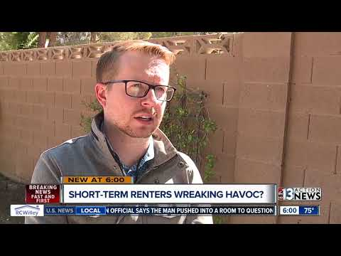 Wild parties and satellite trucks at suspected short-term rental drive neighbors crazy