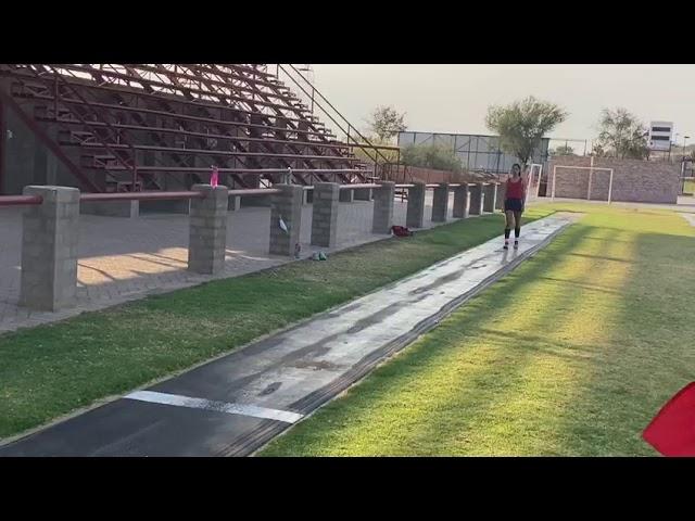Cay Lee Cloete Reg 53610 17y F Triple jump A