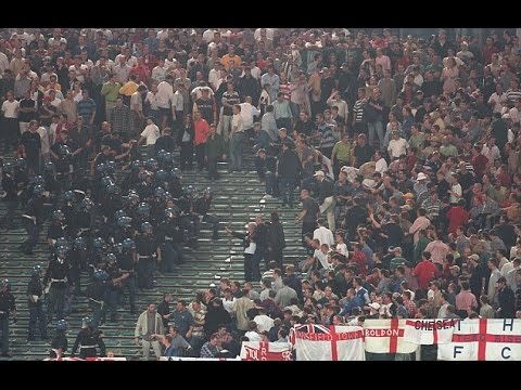 Football Hooligans - Italy v England - Rome -1997