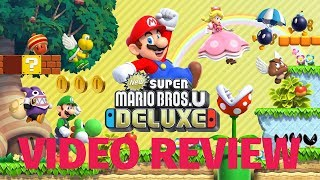 New Super Mario Bros. U Deluxe Review - A Polished Port (Video Game Video Review)